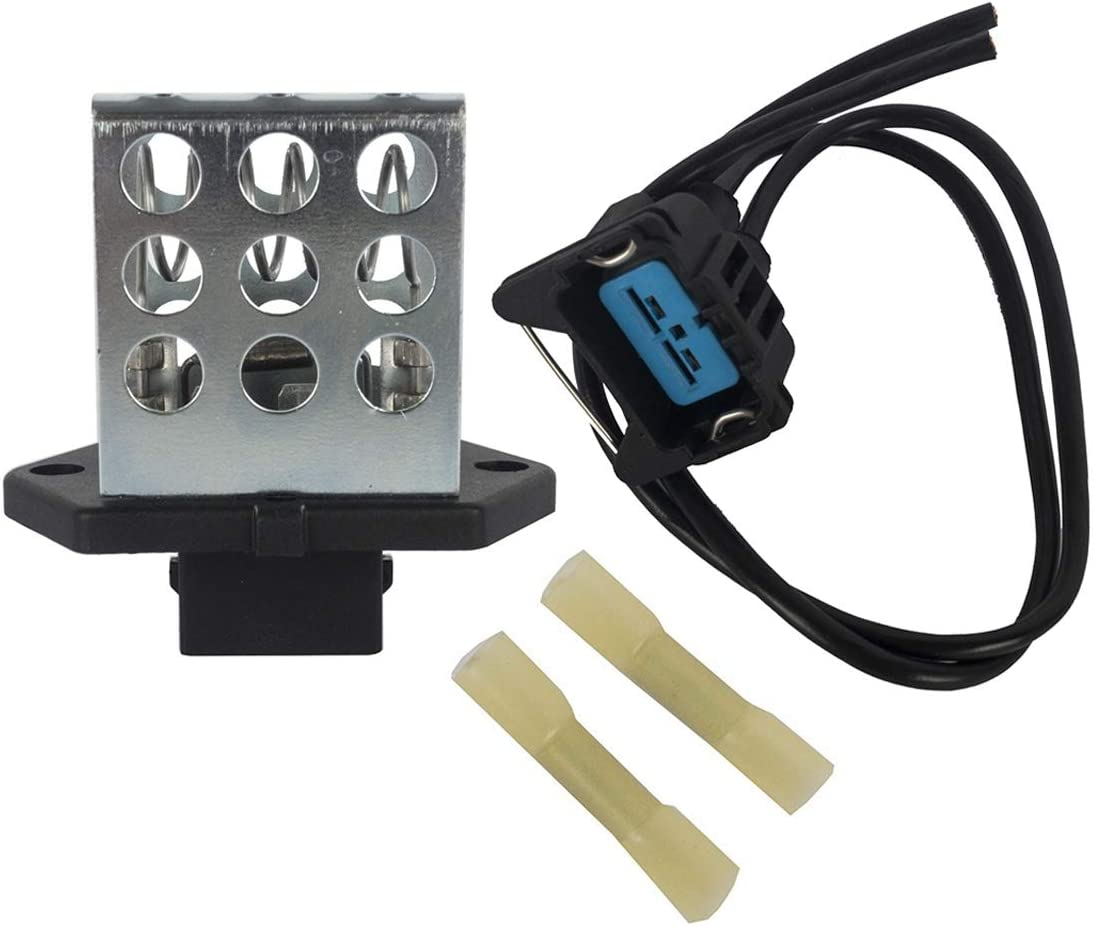 KARPAL Radiator Fan Relay Resistor and Harness Plug Compatible With Ford Contour Focus Mercury Mystique