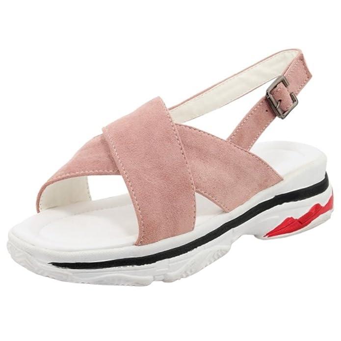 Melady Damen Freizeit Sommer Sandalen