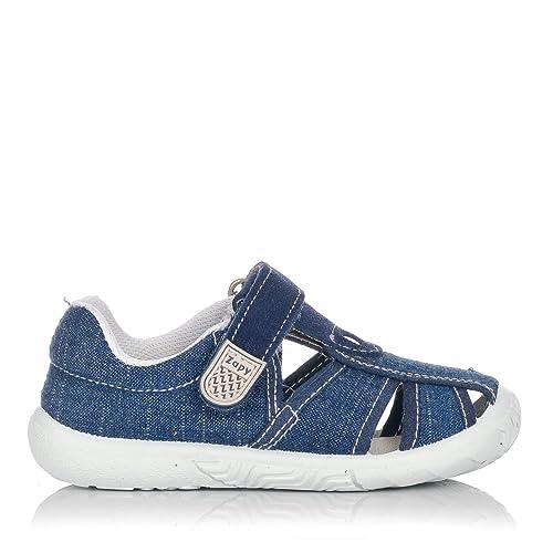 ZAPY S73473 Sandalia Velcro Lona NIÑOS Tejano 31: Amazon.es: Zapatos y complementos