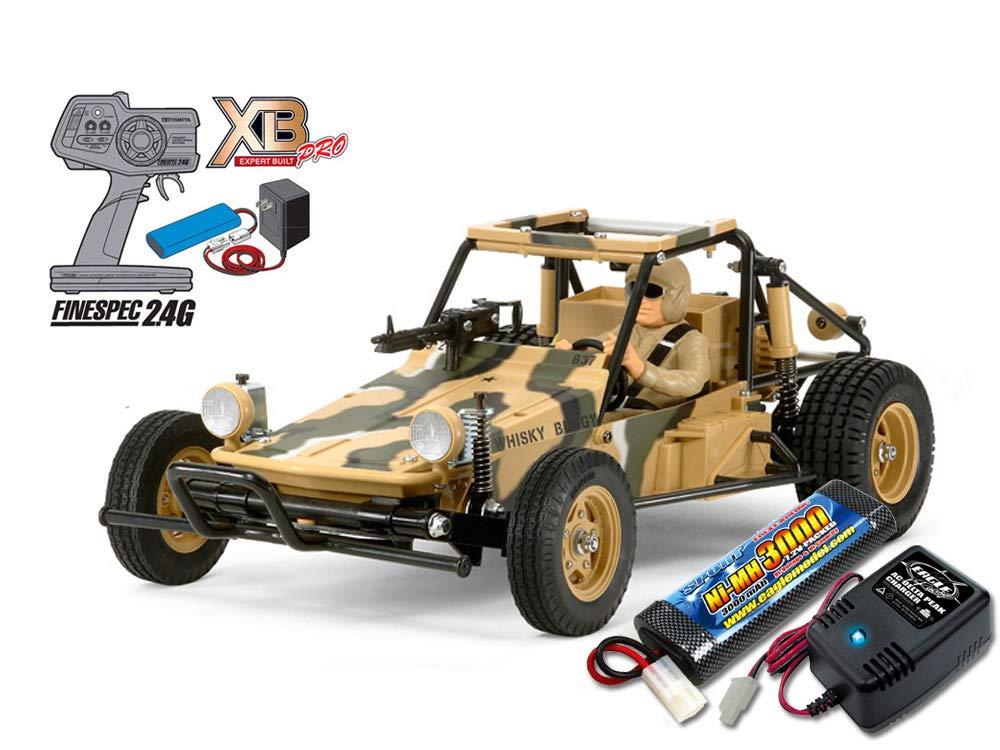 当店オリジナル タミヤ XBフルセット 2.4G アタックバギー (2011)+急速充電器大容量バッテリーセット 57828-2638-2883 B07N57JQXL