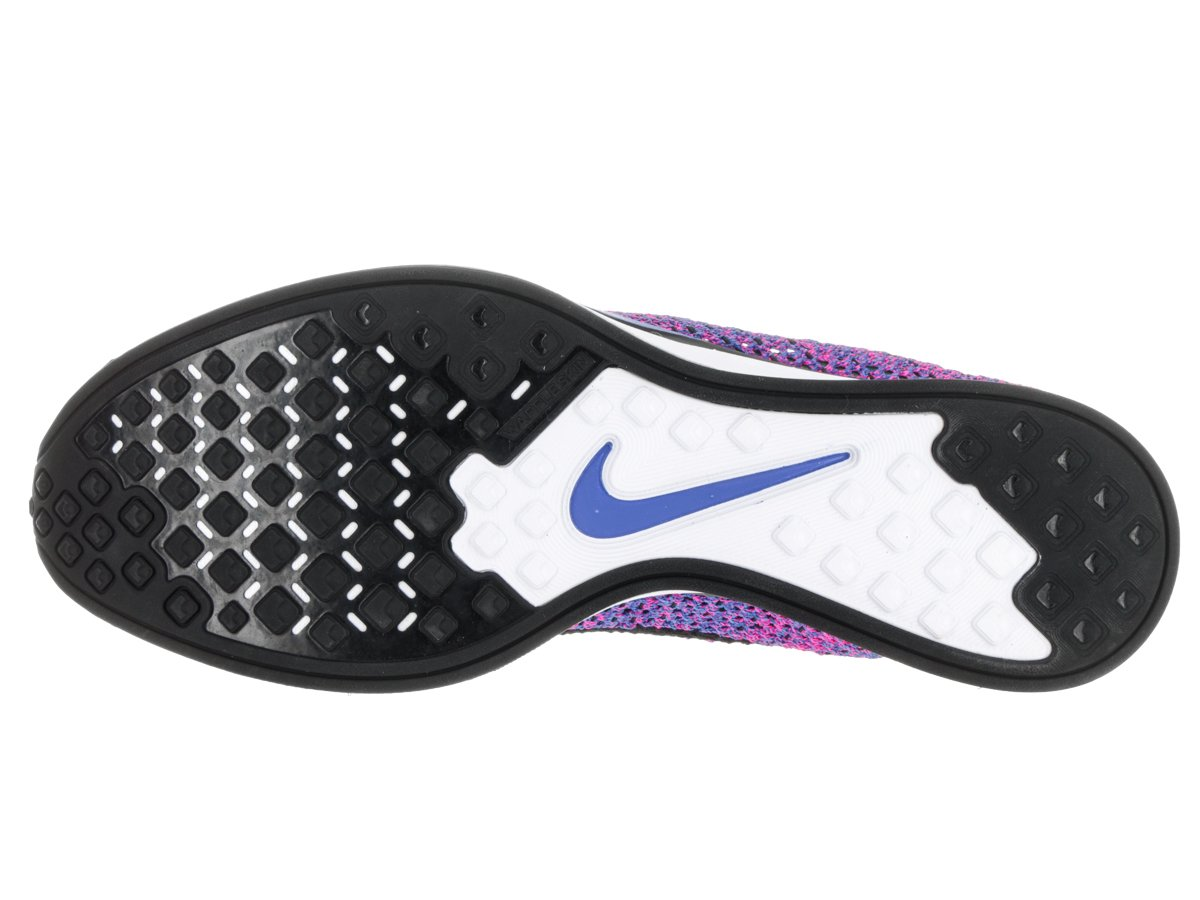 NIKE Unisex Flyknit Racer Running Shoe B00LZSR2NY 7.5 D(M) US|Black/Blue/Pink