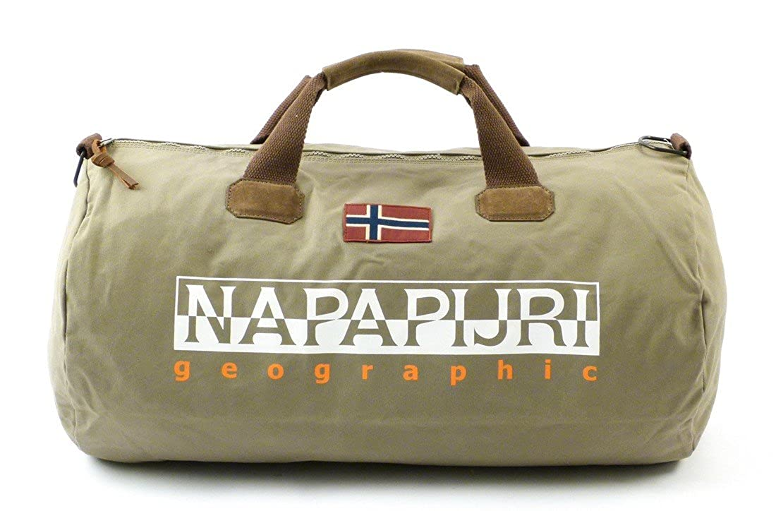 Napapijri Bags Sac de sport grand format, 60 cm, 48 liters, Gris (Volcano)