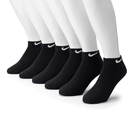 b549bd703cd2f Image Unavailable. Image not available for. Color: NIKE Men's 6-pk. Low-Cut  Performance Socks ...