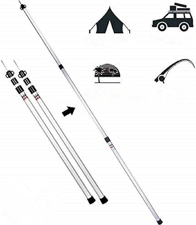 carpas de camping accesorios toldos Adecuado tienda de campaña familiar carpas plegables impermeables tela camping toldo de acampada , El toldo ...