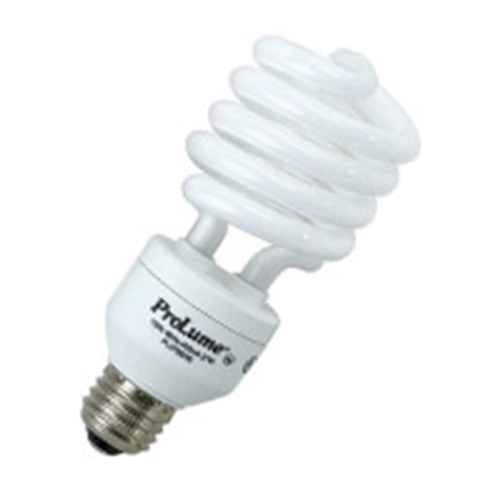 20 Qty. Halco 32W T3 Spiral 5000K Med ProLume CFL32/50 32w 120v CFL Natural White Lamp Bulb