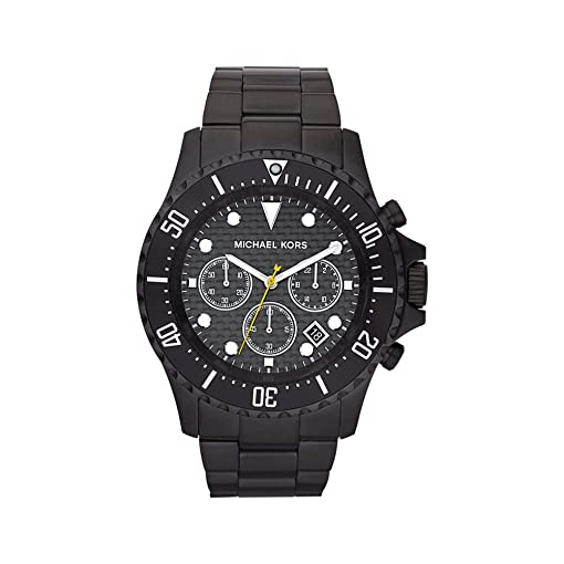 Michael Kors Mens MK8257 Everest Black Watch