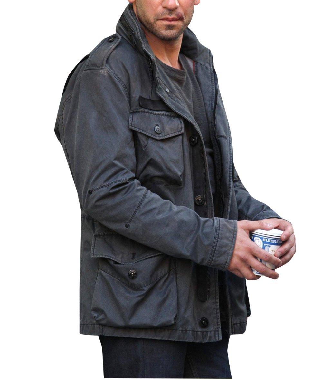 Daredevil Punisher Jon Bernthal Black Cotton Jacket