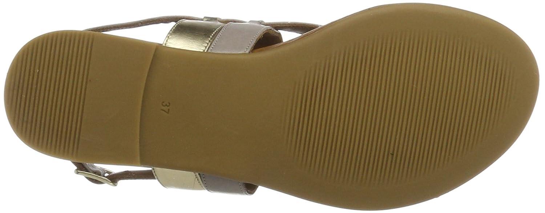 Inuovo (Grey-gold) Damen 7295 Zehentrenner Grau (Grey-gold) Inuovo 0491fe