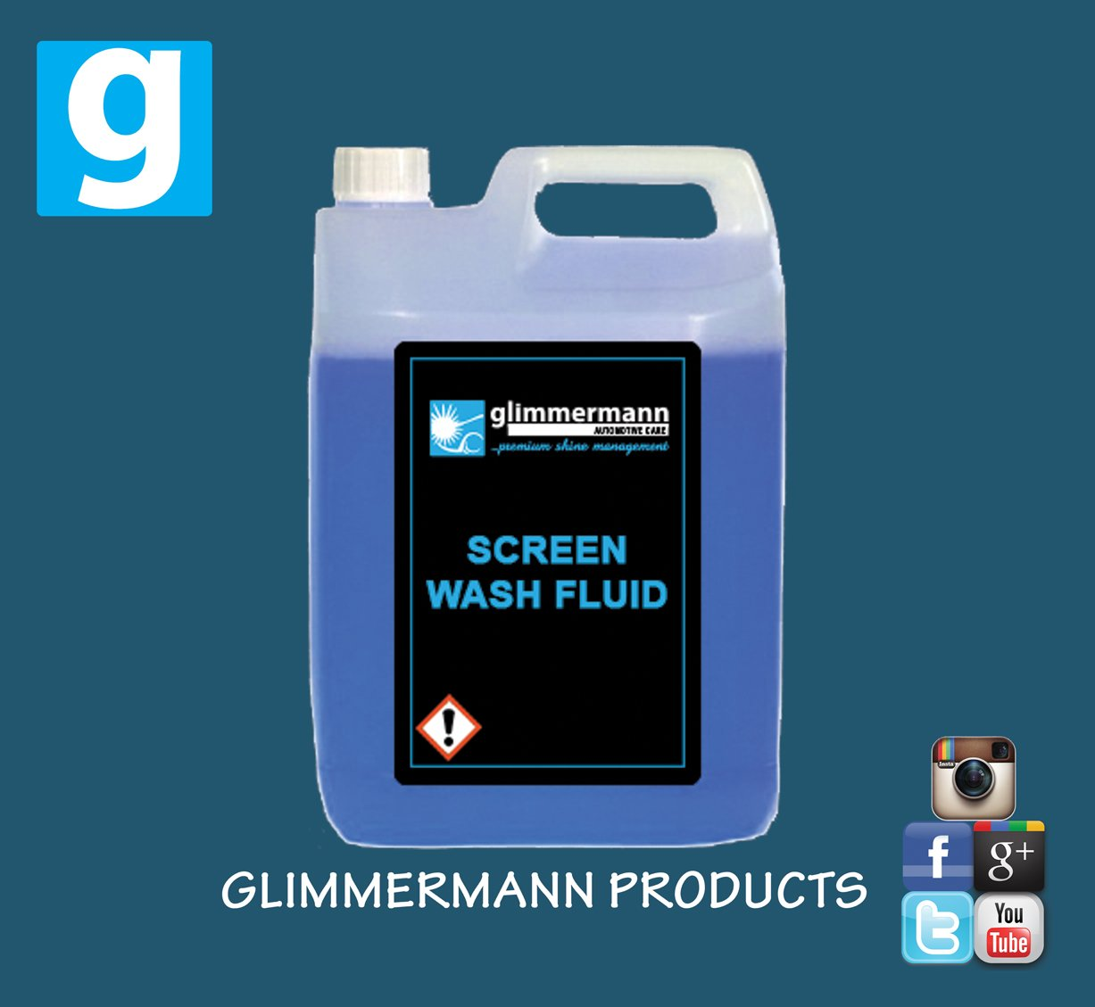 Glimmermann Screen Wash Concentrate 5L Glimmermann Products