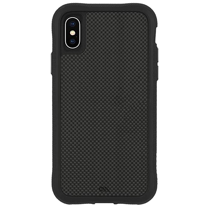 Case-Mate - iPhone XS Case - PROTECTION COLLECTION - iPhone 5.8 - Carbon Fiber