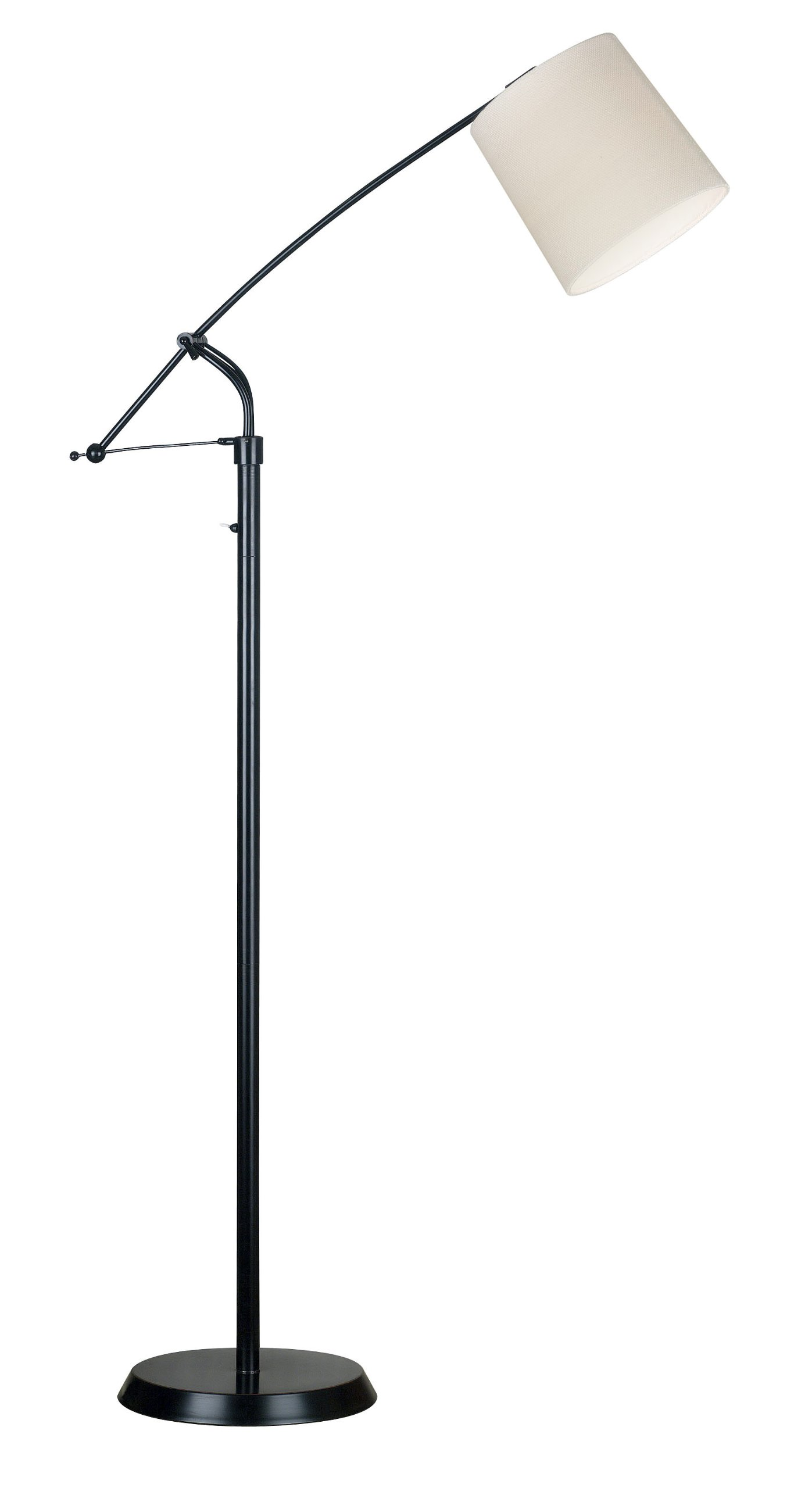 Kenroy Home 20812ORB Reeler Adjustable Floor Lamp, Oil Rubbed Bronze