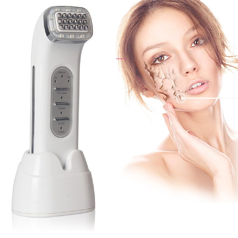 Dot Matrix RF Thermage Radio Frequency Infrared Skin Tightening Rejuvenation Anti-Wrinkle Face Lifting Beauty Massager Machine YAVOCOS
