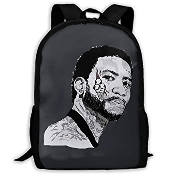 8120b0112c7e Amazon.com: Lightweight Gucci Mane Printed School Backpack Water Resistant  Travel Rucksack Bag Laptop Backpack Daypack,17 Inch: teng city by