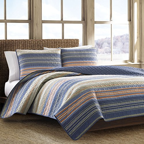 quilt cotton queen blue - 6