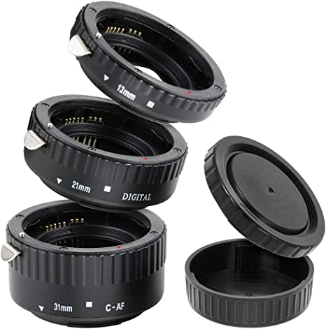 Impulsfoto - Kit de objetivos automáticos de 3 partes (31mm, 21mm ...