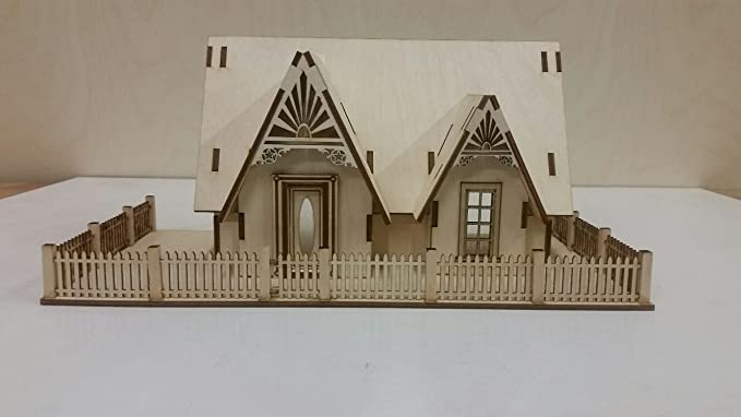 pack 1:48 Scale Dollhouse Miniature running trim 5