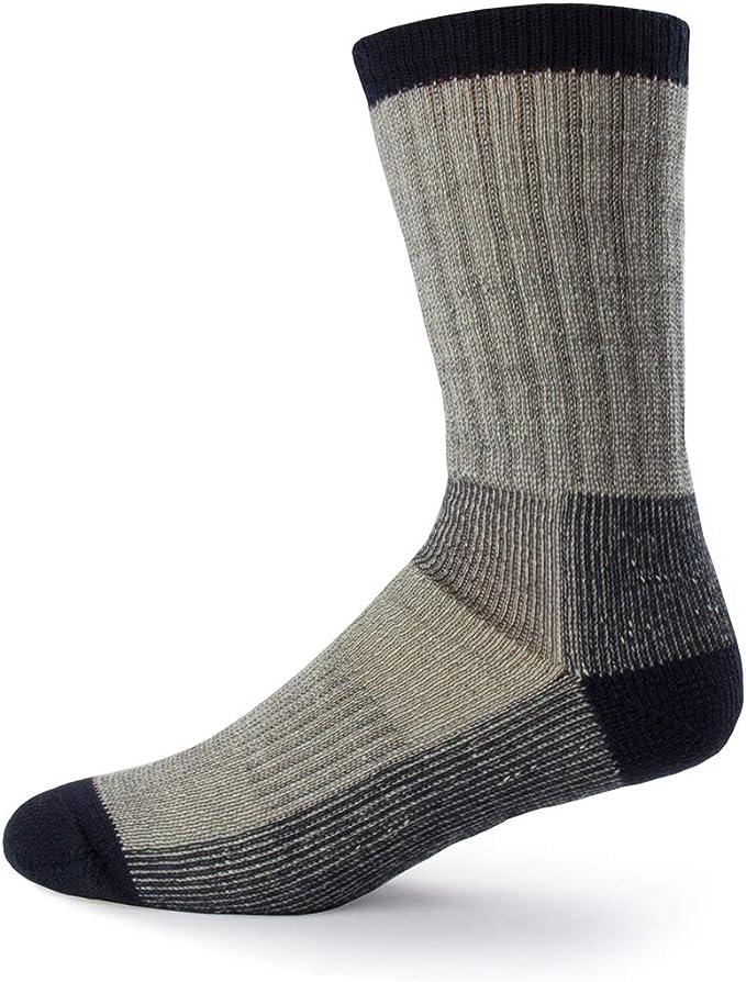 Womens Ladies Thick Wool Socks Hiking Walking Camping Warm Festival Boot Sock