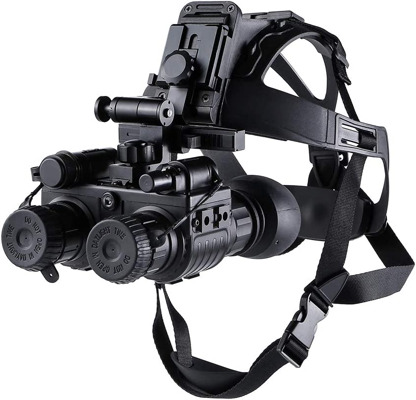 Kopfmontage Nachtsicht Fernglas Die Zweite Generation Low Light Digital Infrarot Jagd Head Mounted Nachtsichtgerät Wilde Tiere Jagd Sport Freizeit