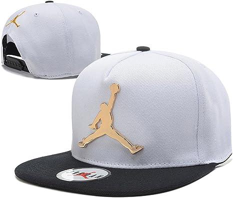 Jordan snapback sombreros / gorras (blanco con el logotipo de ...