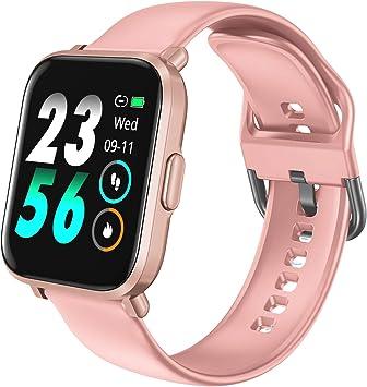 HolyHigh Reloj Inteligente Pantalla Táctil Smartwatch Impermeable ...