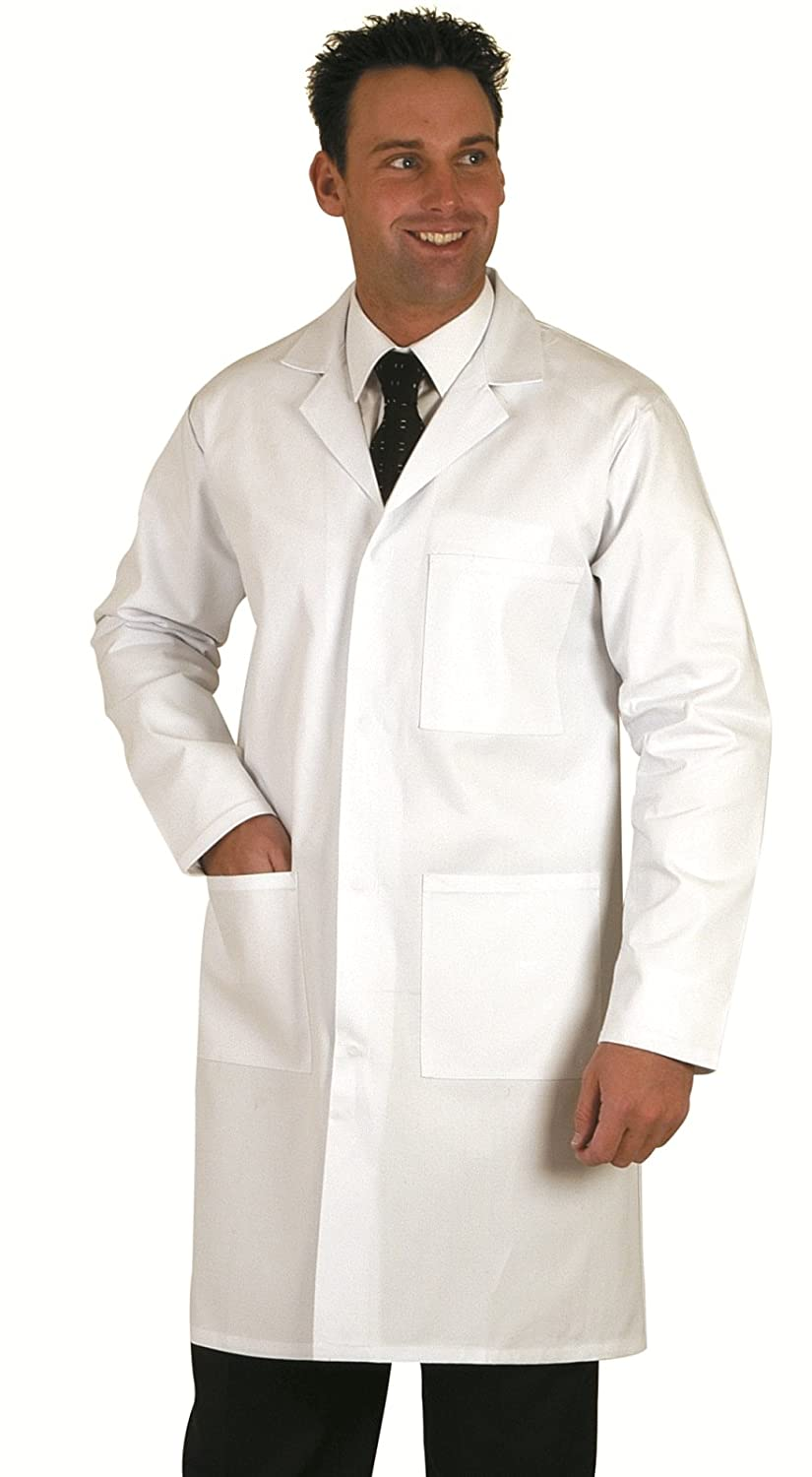 Top Quality Unisex White Lab / Doctors Coat: Amazon.co.uk: Clothing