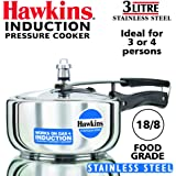 Hawkins Stainless Steel 3.0 Litre Pressure Cooker by A&J Distributors, Inc.