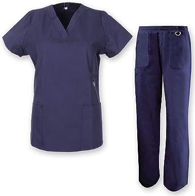 MISEMIYA - PANTALÓN Sanitarios Mujer Uniformes Laboratorios Uniformes Dentistas Veterinaria MÉDICOS Enfermeras - Ref.708