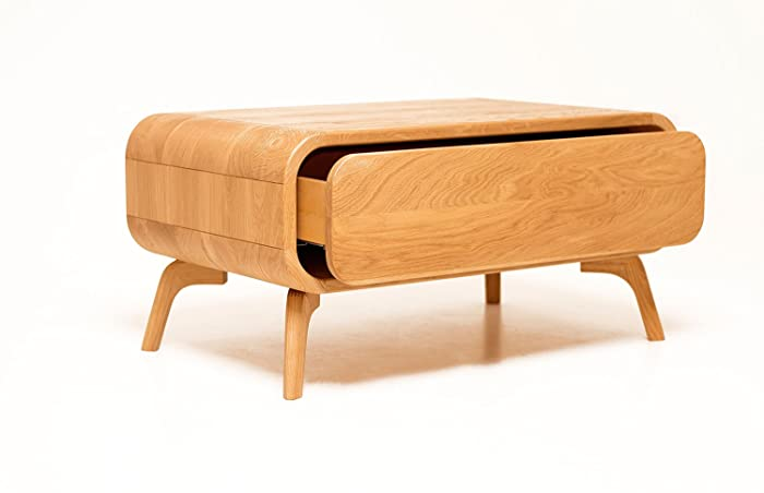 Superb Amazon Com Modern Midcentury Square Coffee Table Wood Gmtry Best Dining Table And Chair Ideas Images Gmtryco