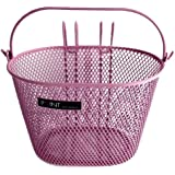 Point Kinder Fahrradkorb VR Colour, rosa, 25x16x16cm, 05107705