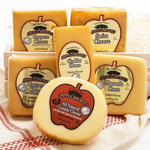(Red Apple Smoked Cheese - Mozzarella (8 ounce))