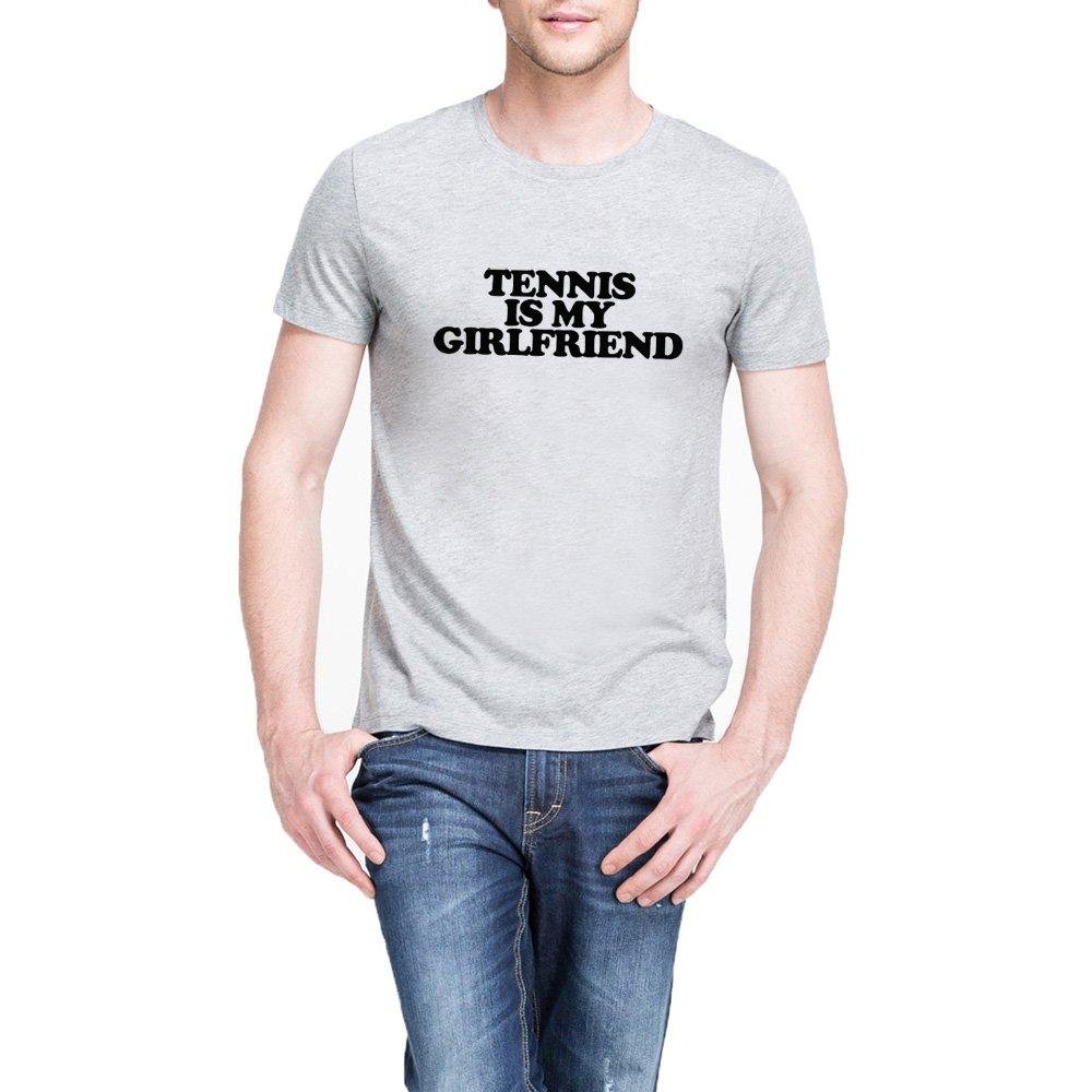 Loo Show Tennis Is My Girlfriend Funny T Shirts Fun Tee