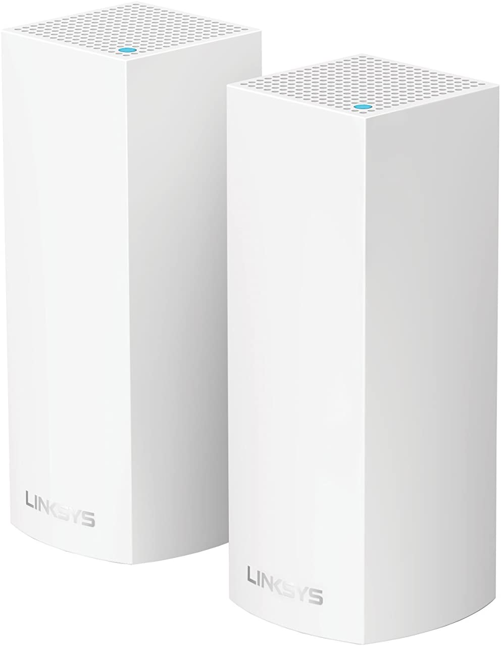 Linksys Velop Tri-Band AC4400 Whole Home WiFi Mesh System- 2-Pack (Coverage up to 4000 sq. ft)