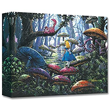 A Smile You Can Trust  Limited edition gallery wrapped canvas by Rodel Gonzalez from the Disney Treasures collection; with COA.