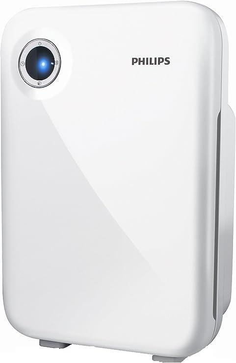 Philips Purificador de aire AC4012/10, 30 W, Acrilonitrilo butadieno estireno (ABS), 3 Velocidades, Blanco: Amazon.es: Hogar