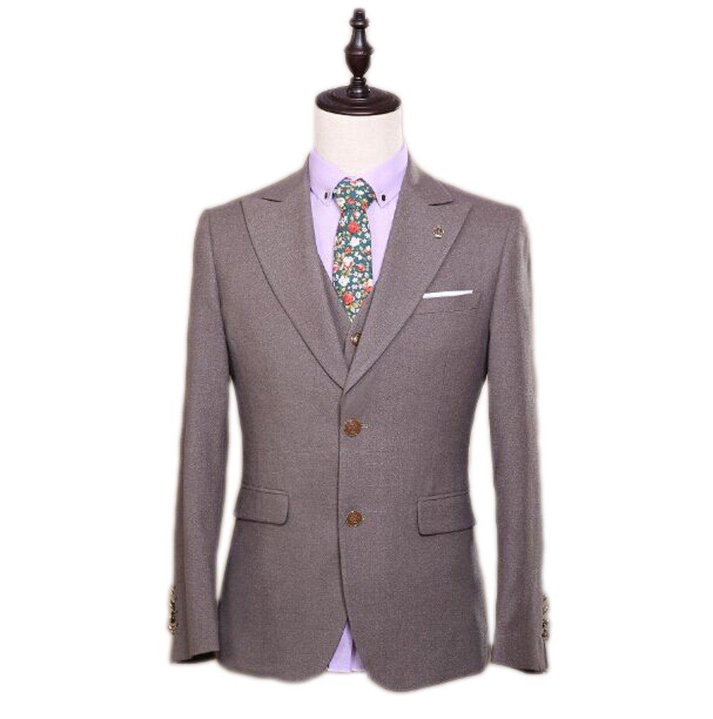 Love Dress Men's Suit 3-Piece Groom Dress Wedding Dress 5XL