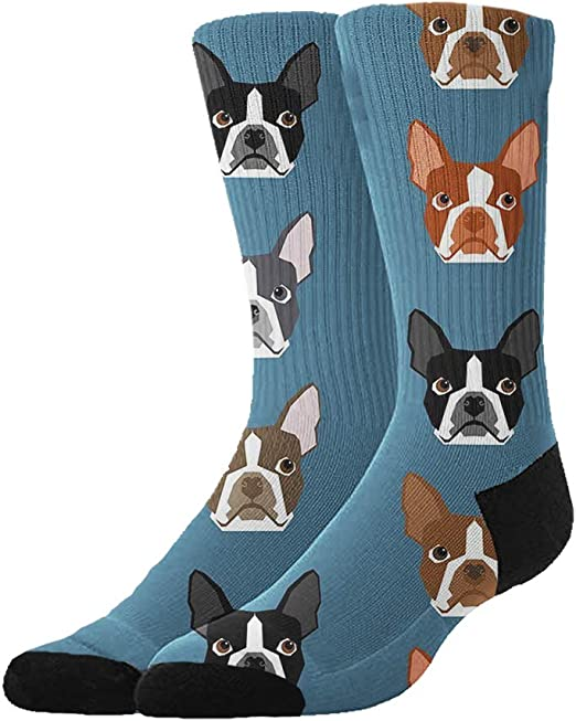 Weiner Dog Casual Cotton Crew Socks Cute Funny Sock,great For Sports And Hiking