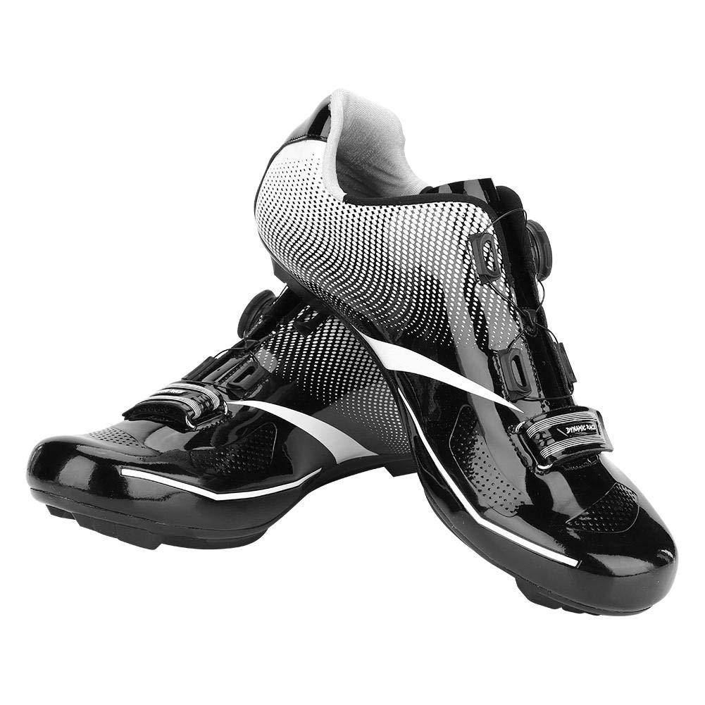 Dilwe Radfahren Spinning Schuh 1 Paar Anti-Rutsch Straße Touring Schuhe mit reflektierenden Streifen für Mountain Road Biking