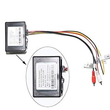 XISEDO Cable de Fibra Óptica Accesorio del Amplificador para Mercedes-Benz G-W463 (