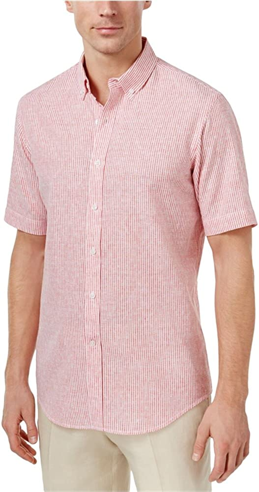 Club Room Men's Dot Dash Button Shirt