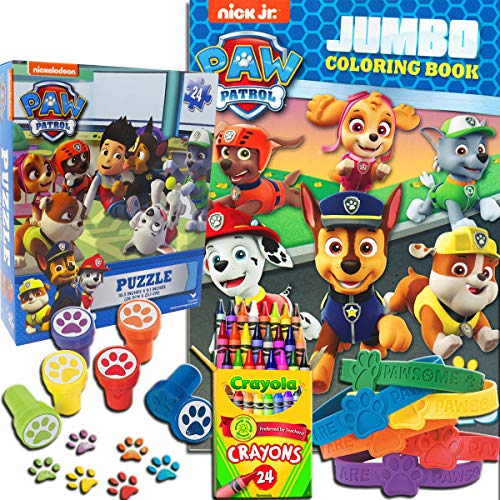 Paw Patrol 5 in 1 Coloring and Activity