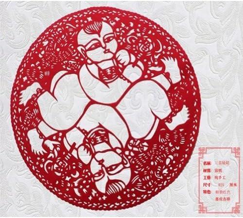 2本セット創造的な素敵な赤ちゃん中国繊細な紙カットデコレーション/ギフト