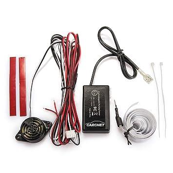 CARCHET® Sensor Radar Aparcamiento Pantalla Sonido Alarma para Coche Auto Universal: Amazon.es: Coche y moto