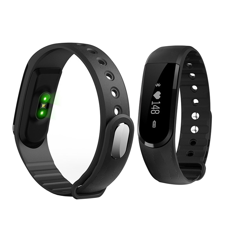 Bracelet de remplacement en Silicone pour les Montres connectées ID101(Non Tracker): Amazon.fr: Montres
