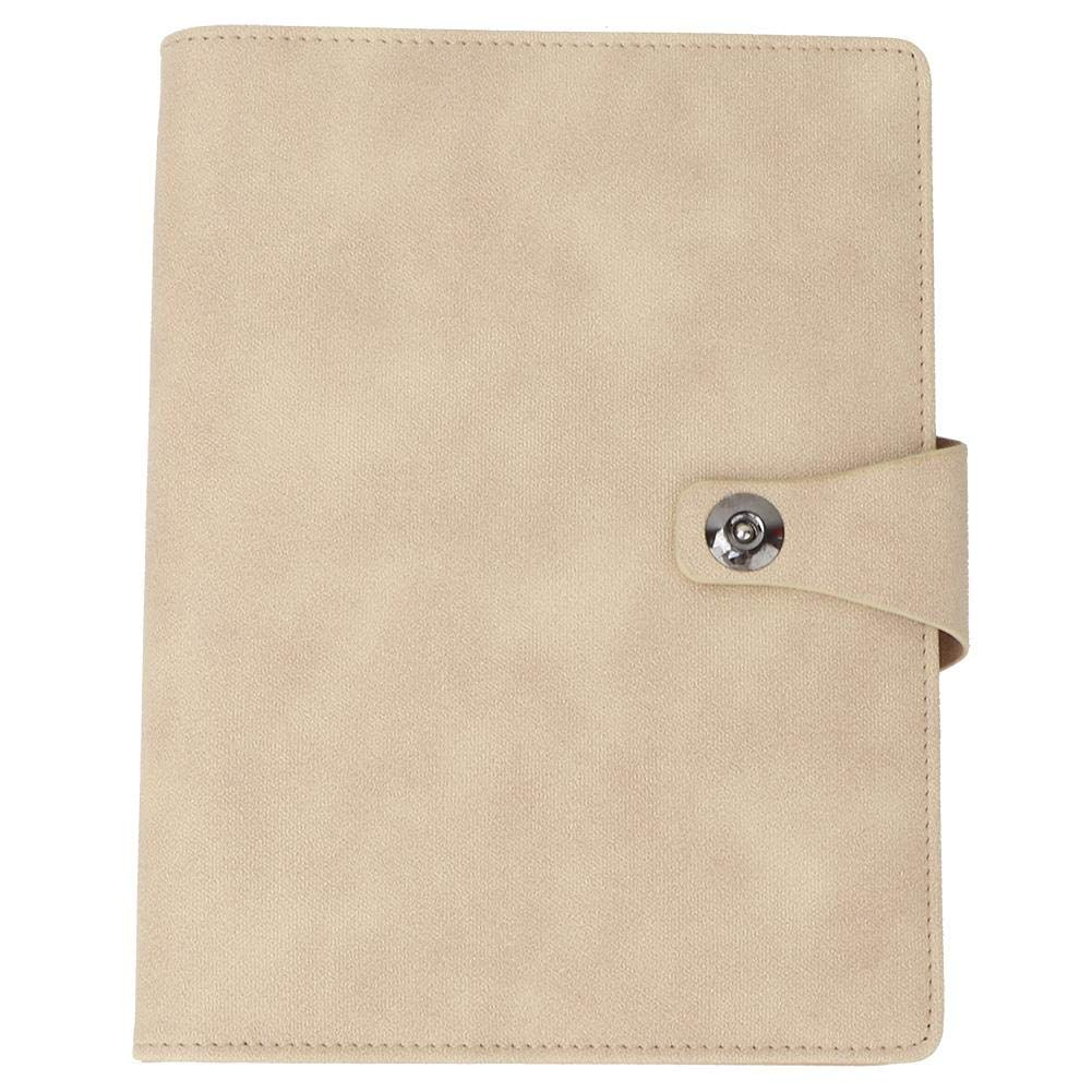 Keyren Notebook Notepad Loose-Leaf Notebooks, PU Leather Business Office by KEYREN