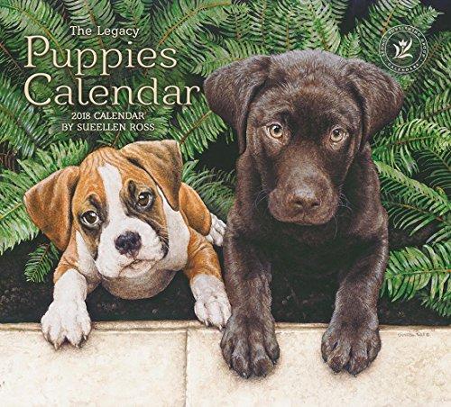 Legacy Publishing Group 2018 12-Month Wall Calendar, Puppies Calendar (Book Puppies Address)