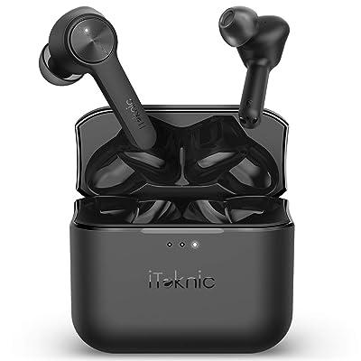 【15日まで】iTeknic Bluetooth5.0 AAC対応 完全ワイヤレスイヤホン 送料込2,479円【激安★超特価商店街限定】