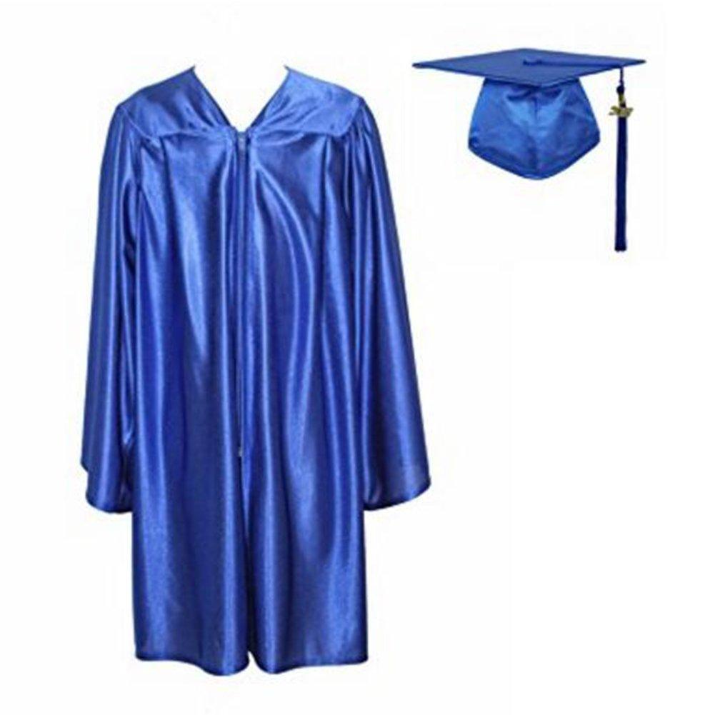 TopTie Economic Unisex Matte Graduation Set Gown Cap Tassel 2017 Size 39-63 GOWX-DK61001