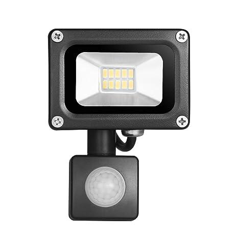 Foco Proyector LED10W 20W 30W 50W 100W LED de inducción PIR sensor de movimiento infrarrojo del
