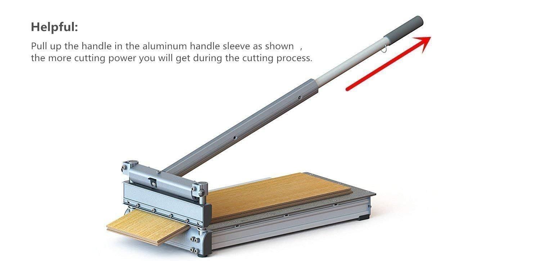 10-Inch Laminate,Engineered Wood,Parquet,Fiber cement  siding,Deck-Floor-Boards,LVP,WPC,SPC,Vinyl flooring cutter MC-250  Better  than 9-inch !Best buy!