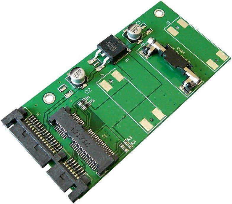 Kalea-Informatique - Adaptador mSATA a SATA 2.0 para disco SSD ...